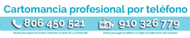 Cartomancia profesional por teléfono