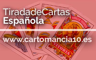 Tirada de Cartas Española